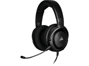 Corsair HS35 Black Wired Stereo Gaming Headset