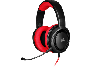 Corsair HS35 Black & Red Stereo Gaming Headset