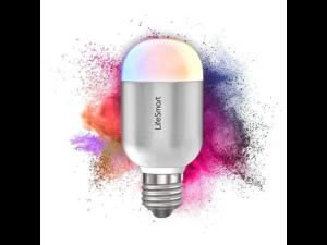 Lifesmart Bluetooth RGB LED White Edison Screw 27mm|220V Light Bulb (No Smart Station Required) Smart Home Light Bulb