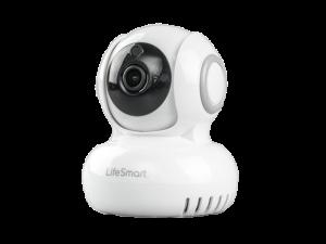 Lifesmart White Wireless Smart Home Wi-Fi Camera With AC Power Supply
