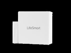 Lifesmart Cube Door or Window White Contact Impact Sensor Smart Home Device