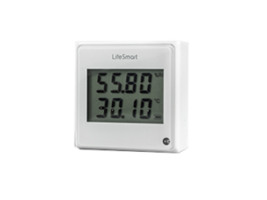 Lifesmart Cube White Temperature, Humidity & Light Environmental Sensor Smart Home Device