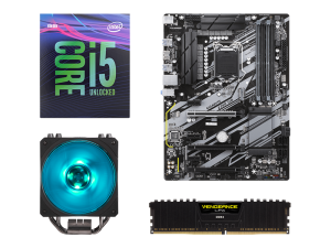 Warp Upgrade Kit Intel i5-9600K, Gigabyte Z390 UD, Corsair 8GB DDR4-2666MHz RAM PC Upgrade Kit