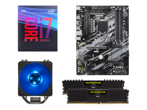 Warp Upgrade Kit Intel i7-9700K, Gigabyte Z390 UD, Corsair 16GB DDR4-2666MHz RAM Upgrade Kit