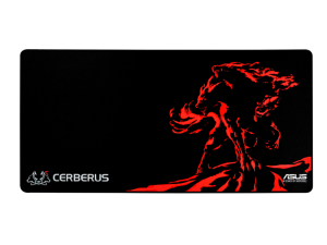 Asus Cerberus Mat XXL Black & Red Gaming Mouse Pad