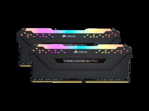 Corsair Vengeance RGB Pro 32GB (2 x 16GB) DDR4-3000MHz CL15 Black Desktop Gaming Memory