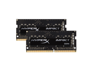 Kingston HyperX Impact 16GB (2 x 8GB) DDR4-2666MHz Black Notebook Memory