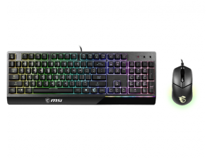 MSI Vigor GK30 RGB Keyboard & Mouse Combo (Includes GK30 Keyboard & GM11 Mouse)