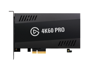 Corsair Elgato 4K60 Pro 4K PCIe x4 Black Capture Card