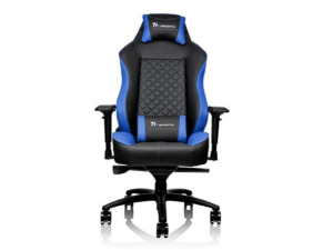 Thermaltake GT Comfort Black & Blue Ergonomic Reclining Gaming Chair