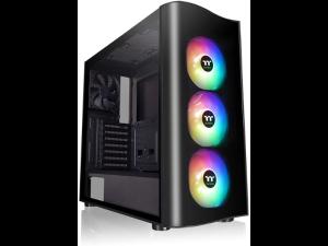 Thermaltake View 23 Tempered Glass ARGB Black Mid Tower Desktop PC Case