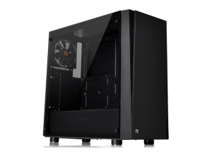 Thermaltake Versa J21 Tempered Glass Black Mid Tower Desktop PC Case