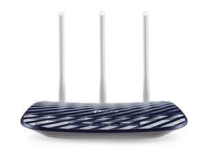 TP-Link Archer C20 AC750 Wireless Dual Band Black & Grey Router
