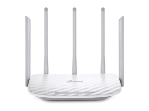 TP-Link Archer C60 AC1350 Dual Band Grey & White Wi-Fi Router