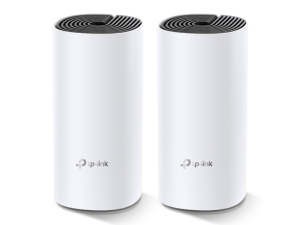 TP-Link Deco M4 AC1200 Whole Home Mesh White & Black Wi-Fi System Twin Pack