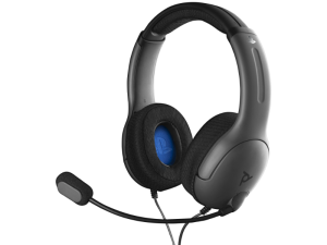 PDP Gaming LVL40 PlayStation 4 Black & Blue Wired Stereo Headset
