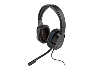 PDP Afterglow LVL3 Black & Blue Stereo Headset For Playstation 4