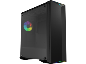MSI MPG Gungnir 100 RGB Tempered Glass Black Mid Tower Desktop PC Case