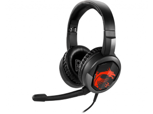 MSI Immerse GH30 Black & Red Wired Gaming Headset