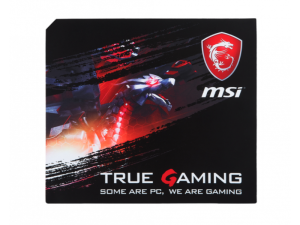 MSI True Gaming 315mm x 270mm x 3mm Mouse Pad