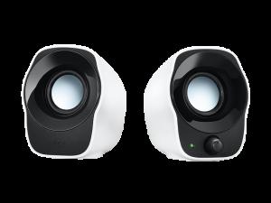 Logitech Z120 Stereo Compact White & Black USB Powered Speakers