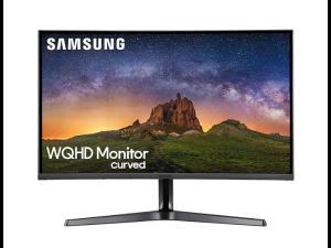 Samsung LC27JG50QQUXEN 27'' WQHD (2560 x 1440) 144Hz 4ms Curved Black Desktop PC Monitor