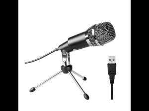 Fifine K668 Uni-Directional Black USB Condensor Microphone with Tripod