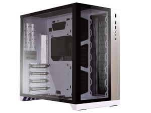 Lian-Li O11 Dynamic Tempered Glass White Mid Tower Desktop PC Case