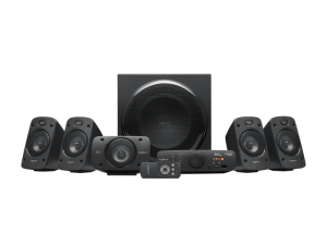 Logitech Z906 5.1 Surround Sound Black Speaker System