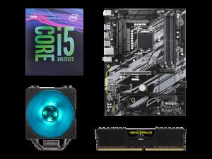 Warp Upgrade Kit Intel i5-9600K, Gigabyte Z390 UD, Corsair 8GB DDR4-2666MHz RAM PC Upgrade Kit
