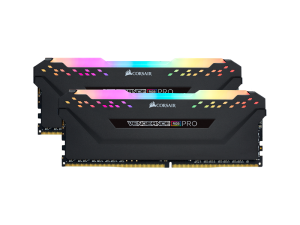 Corsair Vengeance RGB Pro 32GB (2 x 16GB) DDR4-3600MHz CL18 Black Desktop Gaming Memory