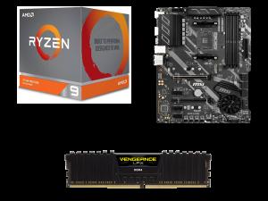 Warp AMD 3900X, MSI X570-A Pro, Corsair Vengeance LPX 8GB DDR4-3200MHz PC Upgrade Kit