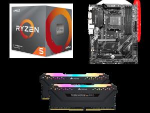 Dark Matter AMD 3600X, MSI B450 Tomahawk Max, Corsair Vengeance RGB Pro 16GB 3200MHz PC Upgrade Kit