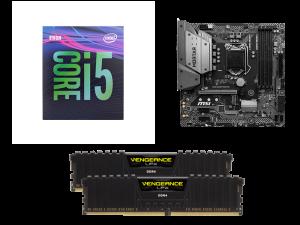 Stellar Intel i5-9600KF, MSI B365M Mortar, Corsair Vengeance LPX 16GB DDR4-2666MHz PC Upgrade Kit