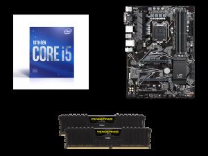 Warp Upgrade Kit Intel i5-10400F, Gigabyte H470 HD3, Corsair 16GB DDR4-3200MHz RAM PC Upgrade Kit