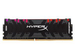 Kingston Hyper-X Predator RGB 8GB DDR4-3600MHz CL17 Black Desktop Gaming Memory