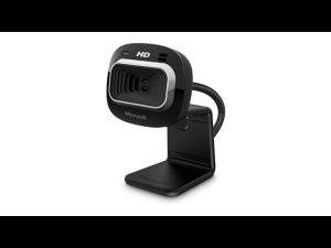 Microsoft Lifecam HD3000 (DSP) Black Webcam