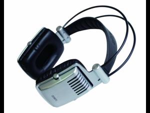 Krator Dione C-1140 Silver HiFi Headphones