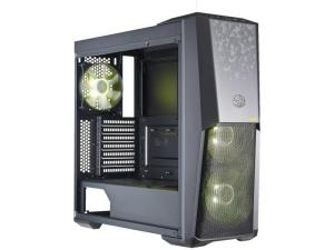 Cooler Master MasterBox MB500 TUF Edition Tempered Glass Black Mid Tower Desktop PC Case