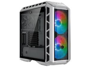 Cooler Master Mastercase H500P ARGB Mesh TG Mid-Tower White Desktop PC Case