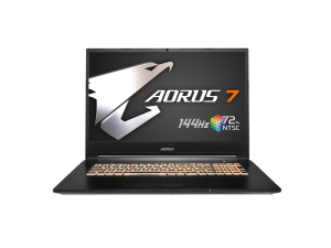 Gigabyte Aorus 7-SA DOS - i7-9750H, 16GB, GTX 1660Ti, 512GB SSD, 15.6'' FHD 144Hz, DOS (Windows Not Included) Laptop