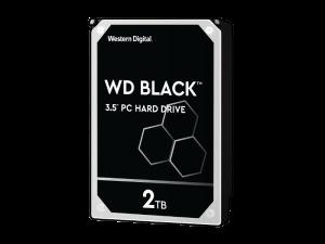 Western Digital Black 2TB 3.5'' 7200RPM SATA Hard Drive