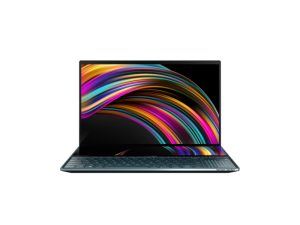 Asus ZenBook Pro Duo I9-9980HK, 15.6'' 4K UHD, 32GB, 1TB SSD, RTX 2060, Windows 10 Pro Notebook - UX581GV-I93210BLR