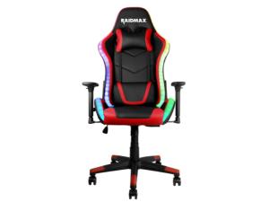 Raidmax DK925 ARGB Black & Red Reclining Gaming Chair
