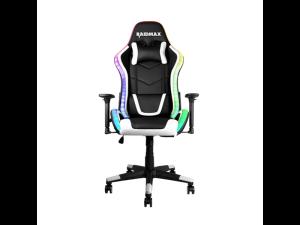 Raidmax DK925 ARGB Black & White Reclining Gaming Chair