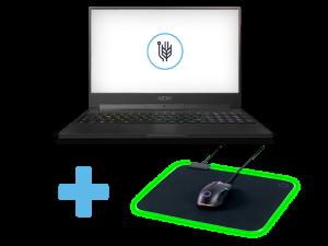 Gigabyte Aero 15 Classic-YA - i7-9750H, 32GB, RTX2080, 1TB SSD, 15.6'' FHD 240Hz, Windows 10 Pro Laptop