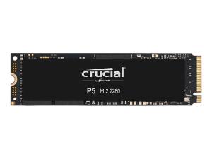 Crucial P5 500GB 3D PCIe Gen 3.0 NVMe M.2 SSD