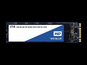 Western Digital Blue 2TB M.2 2280 SATA3 3D NAND SSD