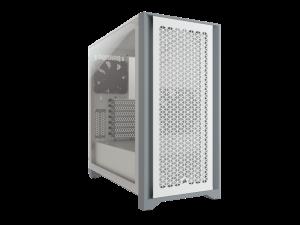 Corsair 4000D Airflow Tempered Glass White Mid Tower Desktop PC Case