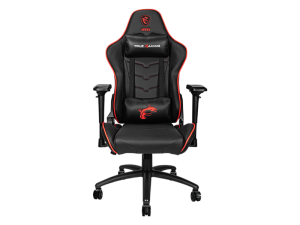 MSI MAG CH120 X Reclining Ergonomic Black and Red Gaming Chair